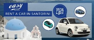 santorini rent cars