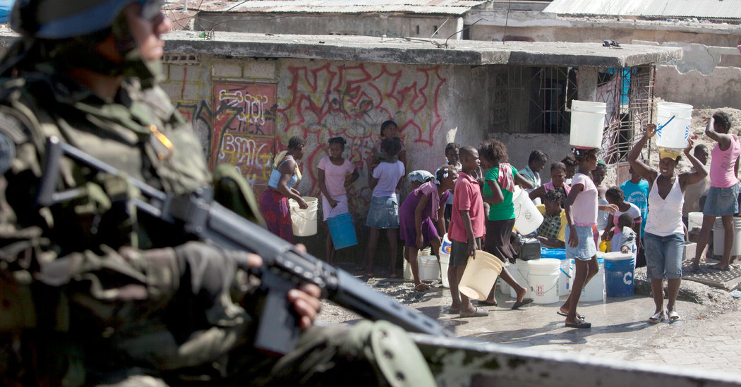 U.N. Peacekeepers in Haiti Said to Have Fathered Hundreds of Children