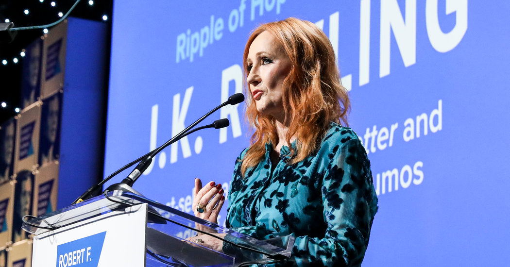 J.K. Rowling Criticized After Tweeting Support for Anti-Transgender Researcher