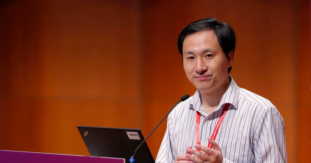Chinese Scientist Who Genetically Edited Babies Gets 3 Years in Prison