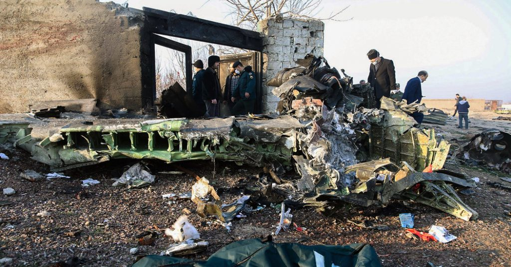 Little Clarity, Many Theories in Ukraine Airline Crash in Iran
