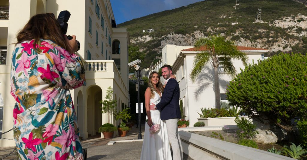 How Gibraltar Became Europe's Pandemic Wedding Hot Spot