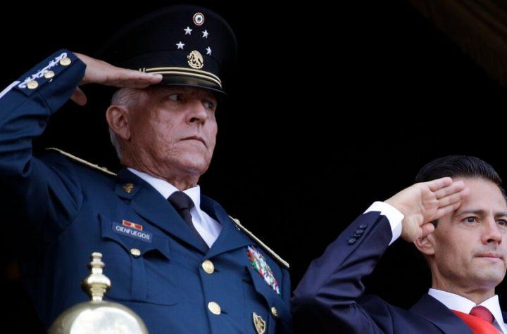 Salvador Cienfuegos, Mexico's Ex-Defense Minister, Is Arrested in L.A.