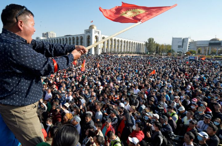 Violent Protests in Kyrgyzstan Over Results of Election Marred by Vote Buying