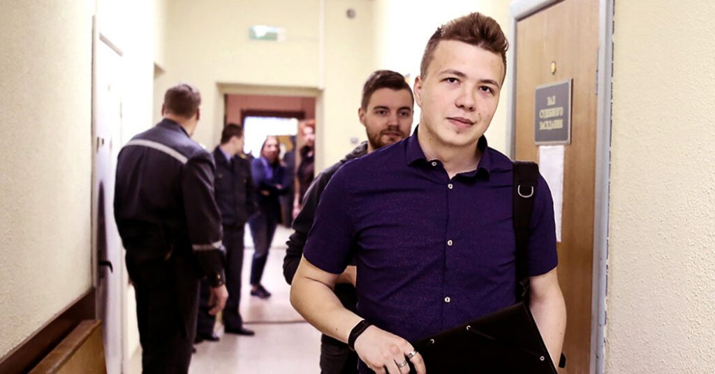 Who Is Roman Protasevich, the Captive Journalist in Belarus?