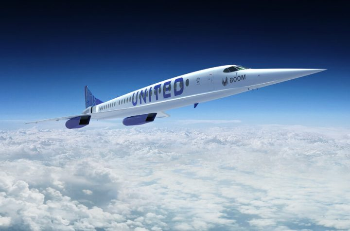 United Airlines Wants to Bring Back Supersonic Air Travel